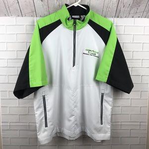 Footjoy 1/2 Zip S/S Pullover Windshirt